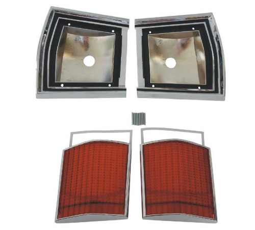 366-67BLKIT Mopar 1967 Dodge Dart Taillight Kit