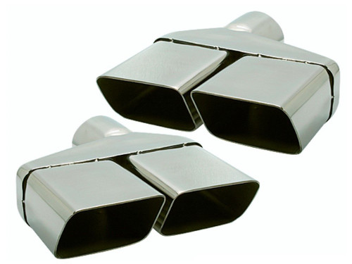 229-S3 Mopar Dodge E-body Challenger 3 Inches Stainless Exhaust Tips