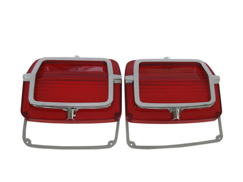 165-65L Mopar 1965 Plymouth Belvedere and Satellite Taillight Lenses