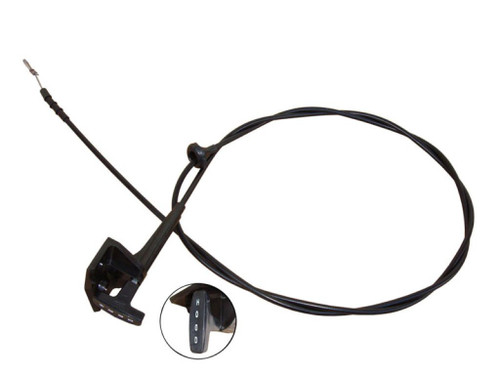 226-HR Mopar 1970-74 E-body Hood Release Cable
