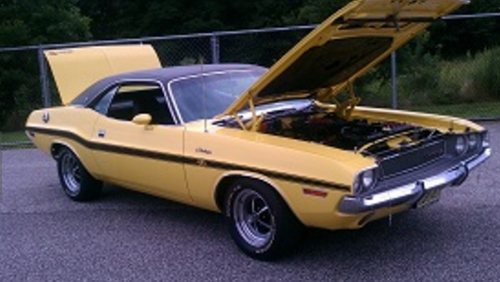 Mopar Vinyl Tops 1970-1972 Dodge Challenger