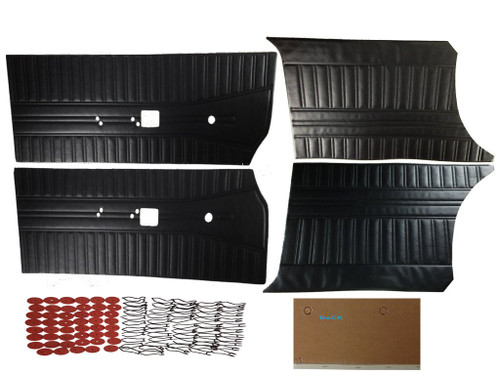 7509 1968 Coronet 440 Super Bee Door Panel Set