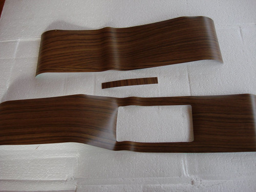 131-AW Mopar 1969 -70 B-body Woodgrain Console Covers