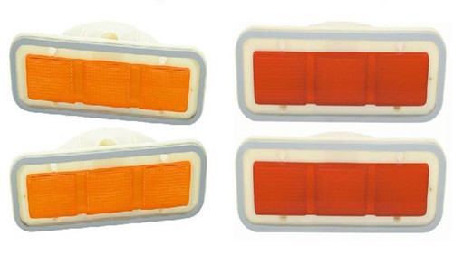 156-LSET Mopar 1971 Plymouth Roadrunner and GTX Side Marker Lens Set