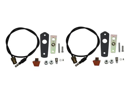 252-C68KIT Mopar 1968 Plymouth Barracuda Turn Signal Indicator Lens Kit