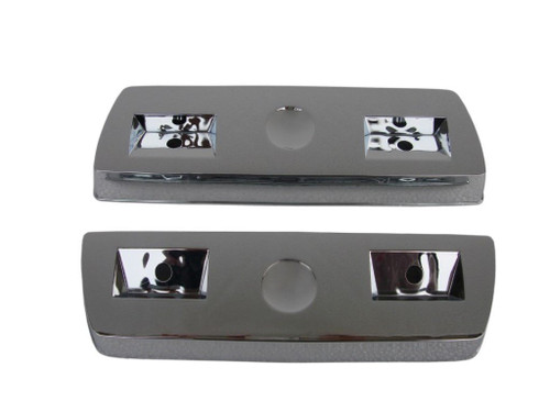 310-R Mopar A-body Chrome Rear Armrest Base