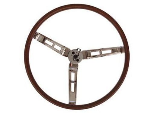 260-70W Mopar 1970 A,B,C-Body Rallye Woodgrain Steering Wheel