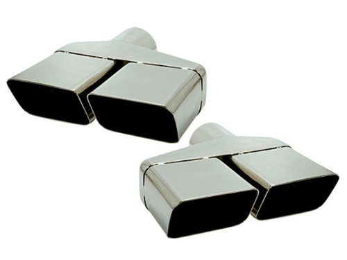 229-S25 Mopar Dodge E-body Challenger 2.5 Inches Stainless Exhaust Tips