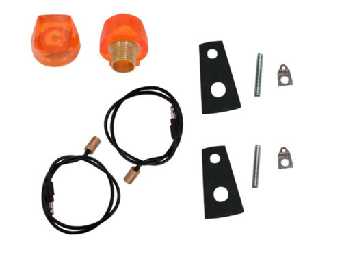 252-LKIT Mopar 1969-70 Dodge and Plymouth Turn Signal Indicator Lens Kit