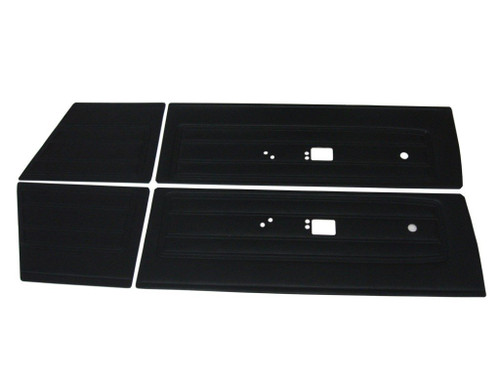 6502 Mopar 1968 Barracuda Front &  Rear Door Panels Fastback
