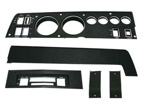 141 Mopar 1969 B-body Rallye Dash Bezel Kit