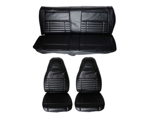 6606-BUK 1972 Duster Demon Front Bucket RearBench Seat Cover