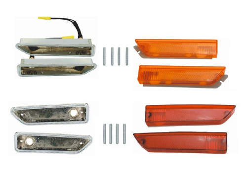 215-BLKIT Mopar 1970-71 Dodge Challenger Side Marker Kit