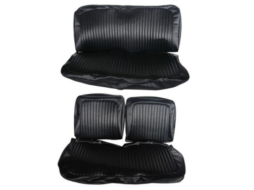 6617-BEN 1973 Dart Swinger Front Bench Rear Bench Seat Cover