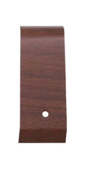 142W-RHC Mopar 1970 B-body Woodgrain Rallye Dash Right Corner Plate