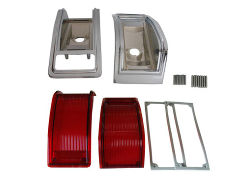 166-440BLKIT Mopar 1965 Dodge Coronet 440 Taillight Kit