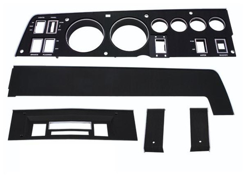 143-SET Mopar 1968 Dodge Charger Rallye Dash Bezel Kit