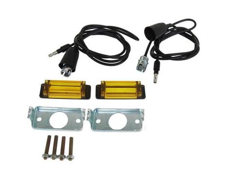 252-CH68LKIT Mopar 1968-69 Dodge Charger Turn Signal Indicator Lens Kit