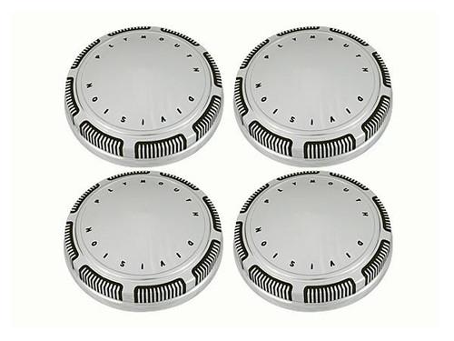 247-PL Mopar A,B,E-body Plymouth Dog Dish Hub Caps