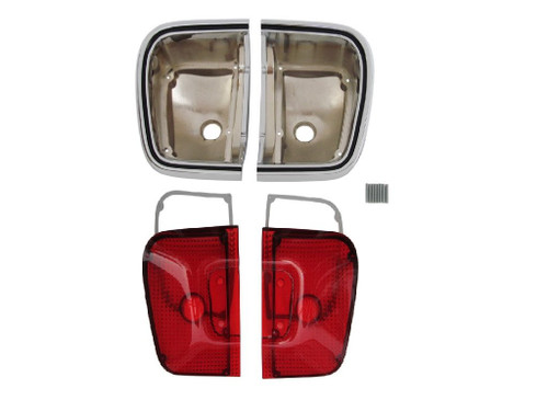 308-67TBLKIT Mopar 1967 Plymouth Barracuda Taillight Kit