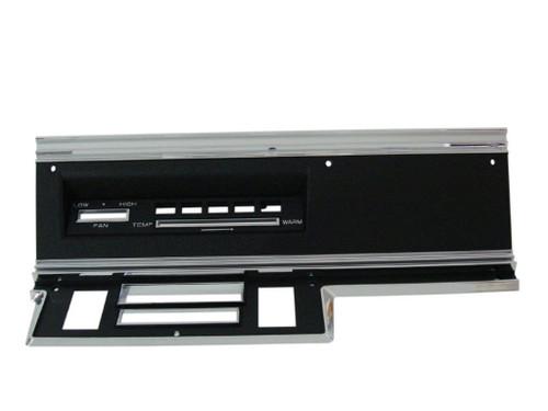 316-D67RAC Mopar 1967-69 Dodge Dart Radio Bezel (AC)