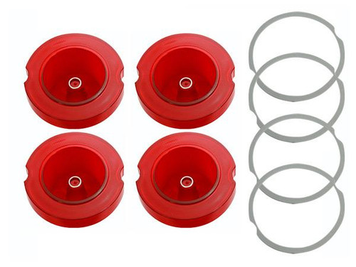 163-L Mopar 1968 Dodge Charger Taillight Lenses