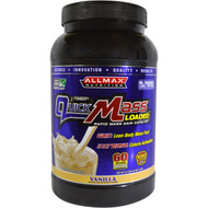 ALLMAX Nutrition, QuickMass Loaded, Rapid Mass Gain Catalyst, Vanilla, 3.3 lbs (1.5 kg)