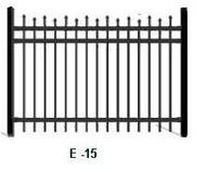 Elite Aluminum Fence E-15