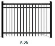 Elite Aluminum Fence EFF-20