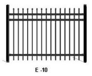 Elite Aluminum Fence E-10 Spear Top