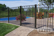 Elite Aluminum Matching Standard Gates with Hardware