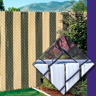 Fence Privacy Slats Fin Link Slats