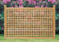 Full Lattice Madison Panel - Square Lattice 4 ft x 8 ft