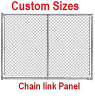 Galvanized 6ft x 10ft Panel kit-Self-assembly