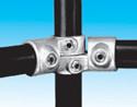 Handrail fitting - Adjustable Side Outlet Tee 90d. - 180d. - HR 21