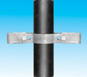 Handrail fitting - Double Pipe Clip Bracket - HR 72