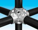 Handrail fitting - Four Socket Cross - HR 26