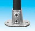 Handrail fitting - Railing Flange - HR 12