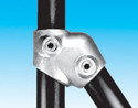 Handrail fitting - Single Socket Tee 60 deg - HR 3