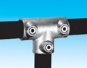 Handrail fitting - Three Socket Tee - HR 4