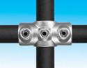 Handrail fitting - Two Socket Cross - HR 22