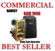 Commercial Slide Rolling Gate Electric Opener Standard duty Ramset 1000