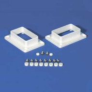 "RAIL BRACKET KIT 2"" X 3-1/2"" - Vinyl Railing - Vinyl Fence Parts"