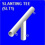 STL1 Slanting Tee, canopy Parts & Fittings