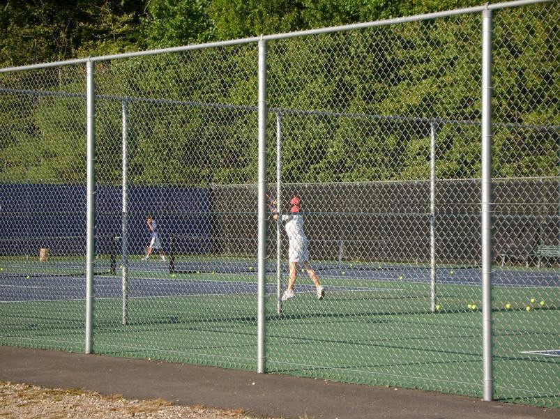 Tennis Court Fence 10 Ft High Tcgv20 System Per Ft