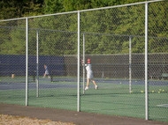 Tennis Court Fence 10 ft high TCGV20 System per FT.
