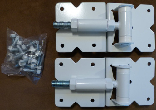 Vinyl Fence Gate Hinges White Fence Material
