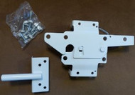 Vinyl Fence Gate Latch (White)
