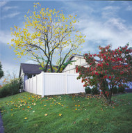 Vinyl Privacy Fence Panels WHITE