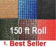 Full Rolls 150 ft- Top & Bottom Strong Mill edge without Gromets